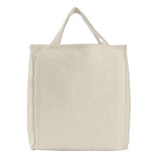 Bolso bordado personalizado bolsa de lienzo