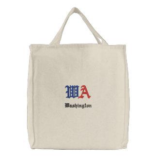 Bolso bordado personalizado de WA Bolsa