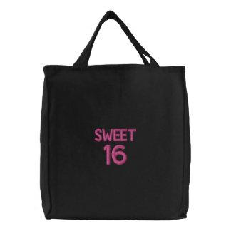 Bolso bordado personalizado, dulce 16, amor de la bolsa de mano bordada