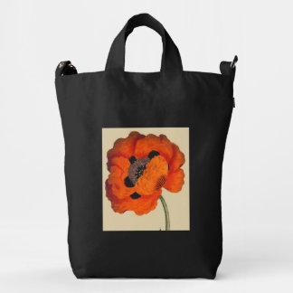 Bolso botánico floral de BAGGU de la flor de la Bolsa De Lona Duck