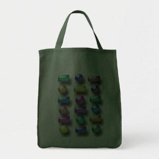 Bolso - botones 3D Bolsas