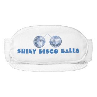 Bolso brillante del vago de las bolas de discoteca visera