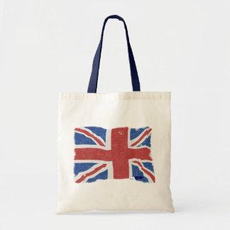 Bolso BRITÁNICO de la bandera 2 del vintage