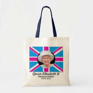 Bolso británico de la bandera del jubileo del retr bolsa