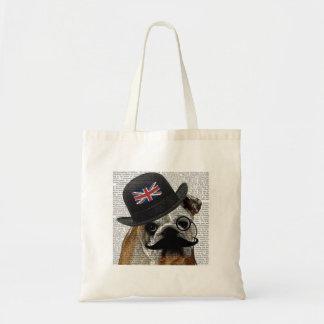 Bolso británico del dogo bolsa tela barata