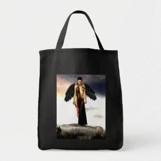 Bolso caido del ángel bolsa tela para la compra