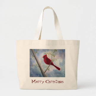bolso cardinal del navidad bolsa tela grande