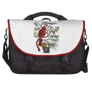 Bolso cardinal del viajero del día de fiesta bolsas para ordenador