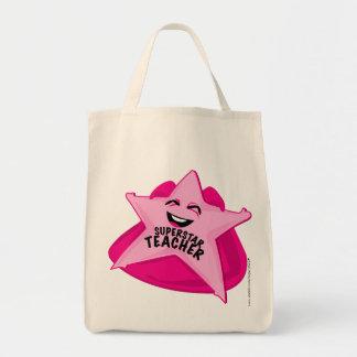 ¡bolso chistoso del profesor de la superestrella! bolsas