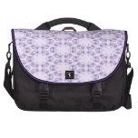 Bolso circular púrpura del viajero del modelo bolsas de portátil