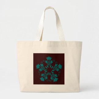 Bolso clásico decorativo bolsa tela grande