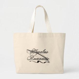 Bolso clásico romántico desesperado bolsa tela grande