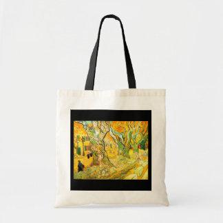 Bolso-Clásico/Vintage-Vincent Van Gogh 4 Bolsas