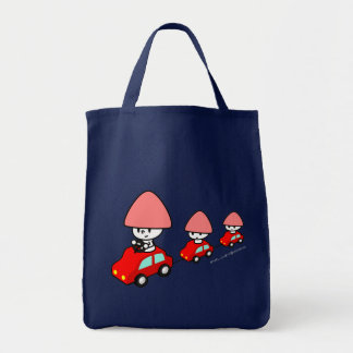 Bolso - coche con los pequeños coches bolsa tela para la compra