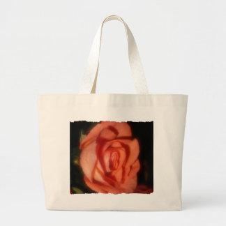 Bolso color de rosa bolsa tela grande