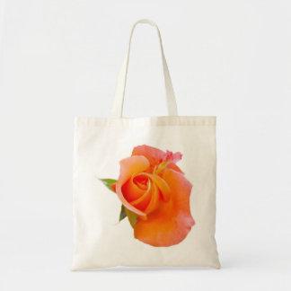 Bolso color de rosa anaranjado bolsa tela barata
