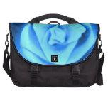 Bolso color de rosa azul del viajero del ordenador bolsas de portatil