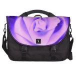 Bolso color de rosa púrpura del viajero del ordena bolsas para ordenador