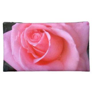 Bolso color de rosa rosado del cosmético del