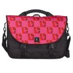 Bolso color de rosa rosado del viajero del ordenad bolsas de portatil