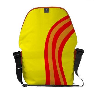 Bolso coloreado multi bolsa de mensajeria
