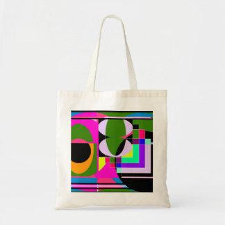 Bolso colorido abstracto