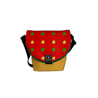 bolso colorido de la moda del niño de $52,95/€ bolsas de mensajeria