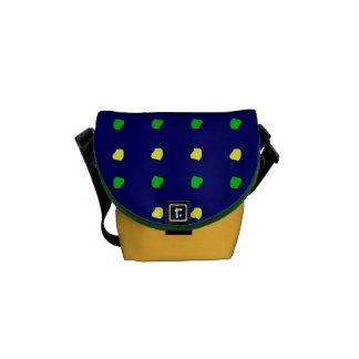 bolso colorido de la moda del niño de $52,95/€ bolsas de mensajería