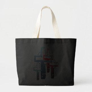 Bolso colorido de las cruces bolsas