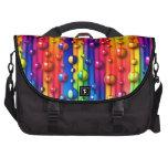 bolso colorido del ordenador portátil de las burbu bolsa para ordenador