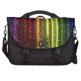 Bolso colorido del ordenador portátil del arco iri bolsas de portátil