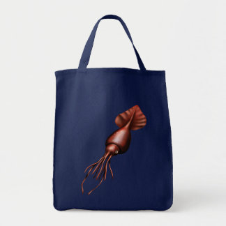 Bolso colosal del calamar bolsa tela para la compra