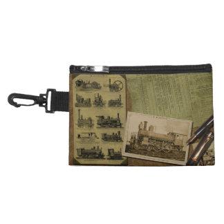 Bolso con clip locomotor del vintage