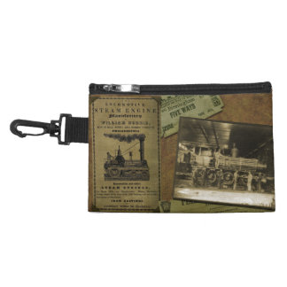Bolso con clip locomotor del vintage - versión 2