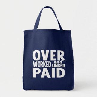 Bolso con exceso de trabajo - elija el estilo y el bolsas de mano