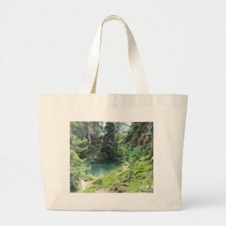 Bolso con fotografía imperecedera de los árboles d bolsas lienzo