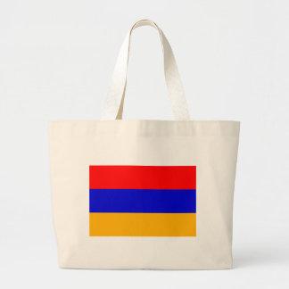 Bolso con la bandera de Armenia Bolsas