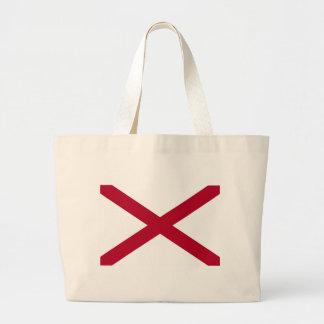 Bolso con la bandera del estado de Alabama - los E Bolsas