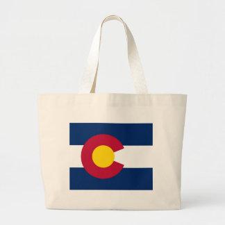 Bolso con la bandera del estado de Colorado - los  Bolsa