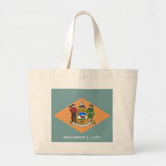 Bolso con la bandera del estado de Delaware - los  Bolsas De Mano
