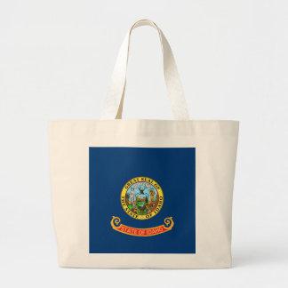 Bolso con la bandera del estado de Idaho - los E.E Bolsas De Mano