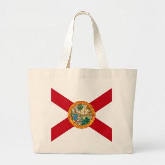 Bolso con la bandera del estado de la Florida - lo Bolsas Lienzo