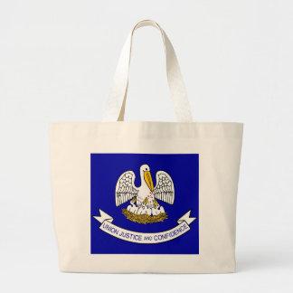 Bolso con la bandera del estado de Luisiana - los  Bolsas De Mano