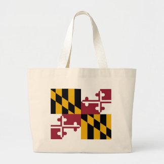 Bolso con la bandera del estado de Maryland - los  Bolsas De Mano