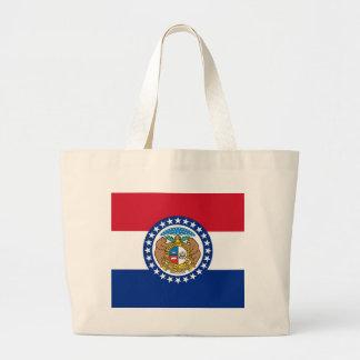 Bolso con la bandera del estado de Missouri - los  Bolsa De Mano