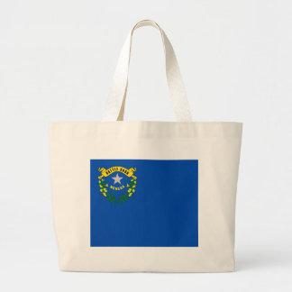 Bolso con la bandera del estado de Nevada - los E. Bolsa De Mano