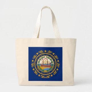 Bolso con la bandera del estado de New Hampshire - Bolsas De Mano