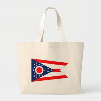 Bolso con la bandera del estado de Ohio - los E.E. Bolsas