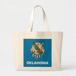 Bolso con la bandera del estado de Oklahoma - los  Bolsas