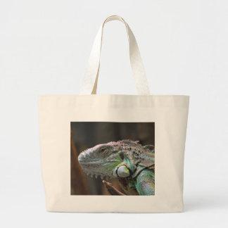 Bolso con la cabeza del lagarto colorido de la igu bolsas